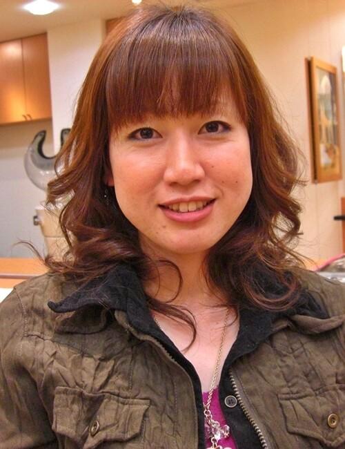 弱酸性パーマのアフター01-2(後)@姫路市駅前の美容室・美容院・ヘアサロン