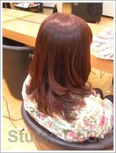 トリートメントカラーのビフォーアフター画像01(後)@姫路駅前の美容室・美容院・ヘアサロン