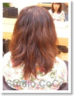 トリートメントカラーのビフォーアフター画像01(前)@姫路駅前の美容室・美容院・ヘアサロン