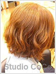 トリートメントカラーのビフォーアフター02(後)@姫路市駅前の美容室・美容院・ヘアサロン