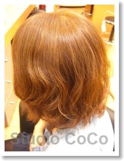 トリートメントカラーのビフォーアフター02(後画像02)@姫路駅前の美容室・美容院・ヘアサロン