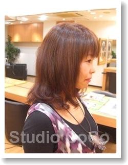 トリートメントカラーのビフォーアフター03(後)@姫路市駅前の美容室・美容院・ヘアサロン