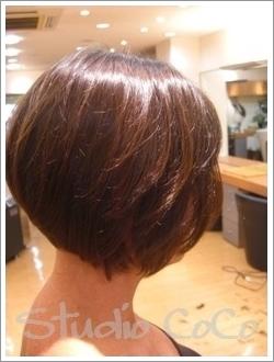 カットモデルでビフォーアフター01 @姫路駅前の美容室・美容院・ヘアサロン
