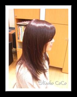 香草カラーのアフター画像01 @姫路市駅前の美容室・美容院・ヘアサロン