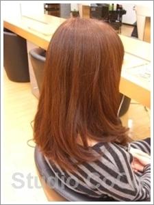 草木染め+クリアカラー01(後)@姫路市駅前の美容室・美容院・ヘアサロン