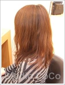 草木染め+クリアカラー02(前)@姫路市駅前の美容室・美容院・ヘアサロン