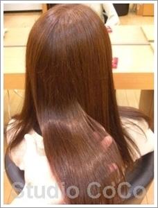 草木染め+クリアカラー03(後)@姫路市駅前の美容室・美容院・ヘアサロン