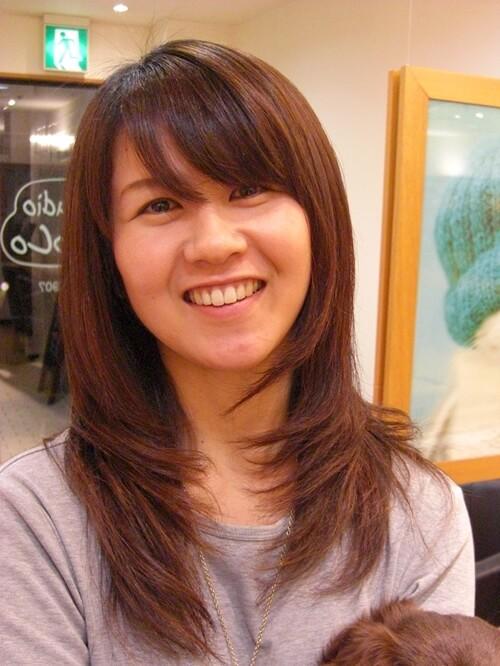 縮毛矯正のアフター画像1 @姫路市駅前の美容室・美容院・ヘアサロン