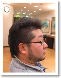 モヒカンカット(前)02 @姫路駅前美容室・美容院・ヘアサロン
