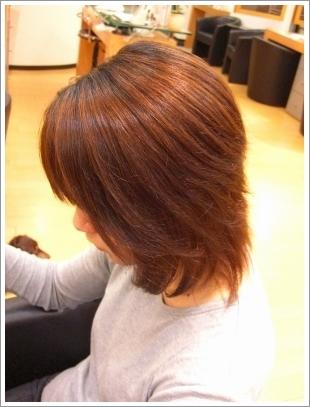 縮毛矯正・ストレートパーマのアフター01