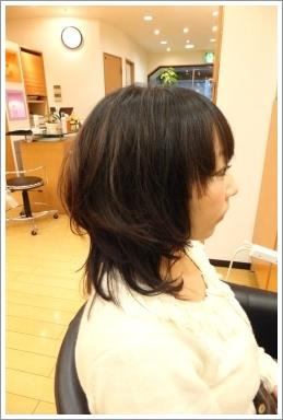 カットモデルでビフォーアフター09 @姫路駅前の美容室・美容院・ヘアサロン