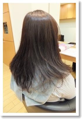 香草カラーのビフォーアフター9(後03) [ロング]