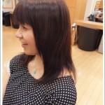 弱酸性縮毛矯正のビフォーアフター 5 [ロング]