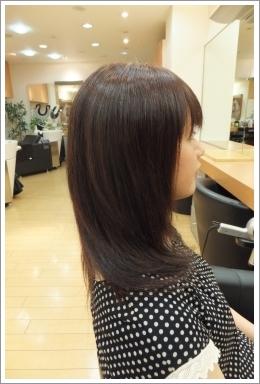 弱酸性縮毛矯正のビフォーアフター 5 [後01]