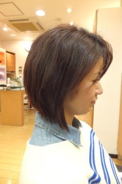 弱酸性の縮毛矯正・ストレートパーマ06 【施術後01】 ミディアム