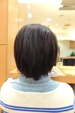 弱酸性の縮毛矯正・ストレートパーマ06 【施術後02】 ミディアム