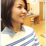 弱酸性の縮毛矯正 ビフォーアフター 6 [ミディアム]