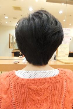 カットモデルのビフォーアフター11 【後02】 ショート