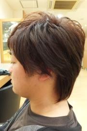 香草カラーのビフォーアフター13 【施術後03】 メンズ・ショート