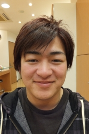 香草カラーのビフォーアフター13 【施術後04】 メンズ・ショート