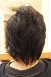 香草カラーのビフォーアフター13 【施術前02】 メンズ・ショート