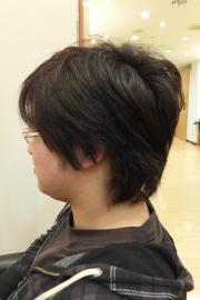香草カラーのビフォーアフター13 【施術前03】 メンズ・ショート
