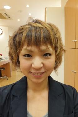 低アルカリパーマのビフォーアフター01 【施術後04】 ショートヘア