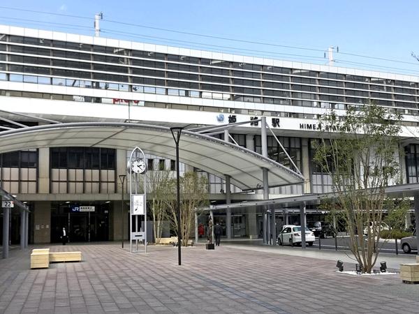 JR姫路駅南口からの徒歩アクセス 01