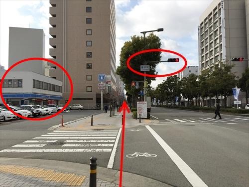 JR姫路駅南口からの徒歩アクセス 04