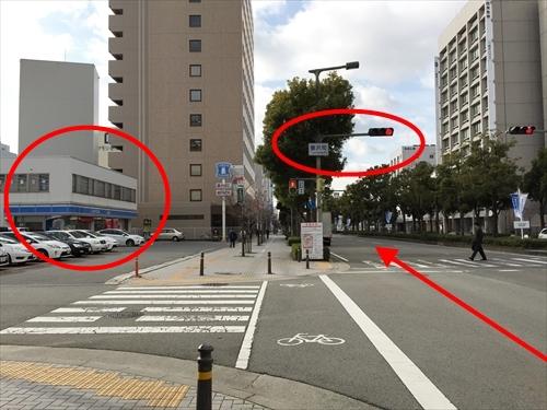 JR姫路駅南口からの車アクセス 03