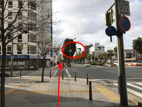 JR姫路駅南口からの徒歩アクセス 06