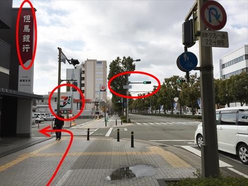 JR姫路駅南口からの徒歩アクセス 07