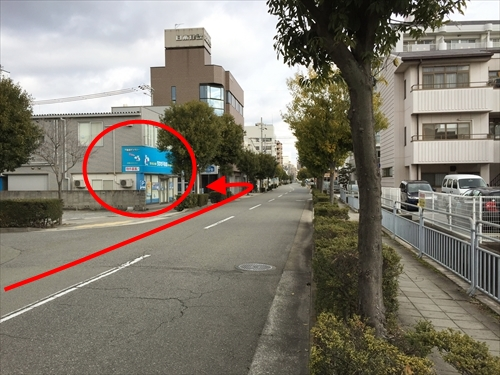 姫路バイパス南出口から車で行く方法 05