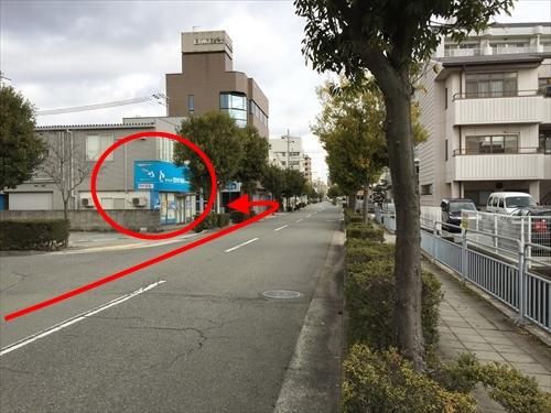 JR姫路駅南口からの車アクセス 10