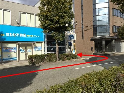 JR姫路駅南口からの車アクセス 11