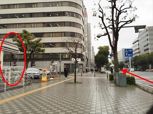 JR姫路駅南口からの車アクセス 01