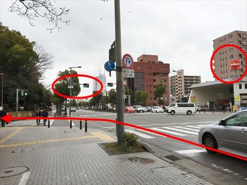JR姫路駅南口からの車アクセス 07