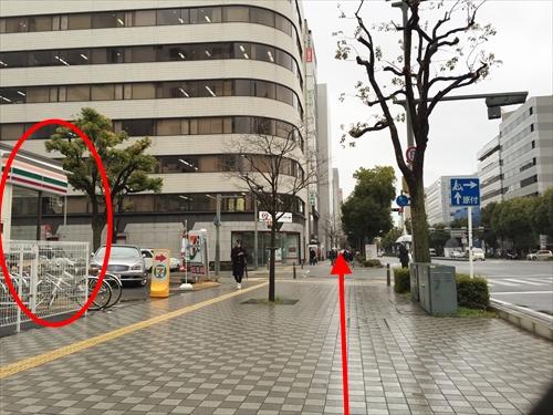JR姫路駅南口からの徒歩アクセス 03