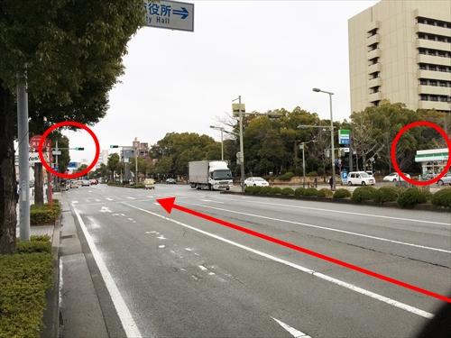 姫路バイパス南出口から「車」でスタジオ・ココに行く場合のアクセス方法