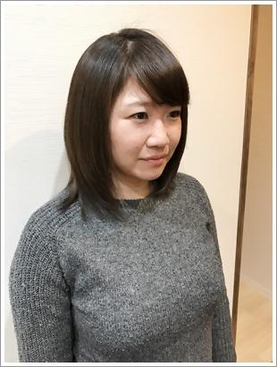 香草カラーのビフォーアフター画像