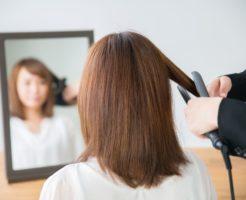 ストレートアイロン、縮毛矯正、ストレートパーマのイメージ画像
