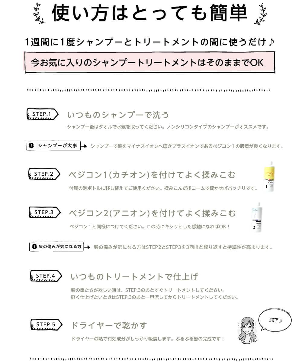 ベジコン(使い方の説明)