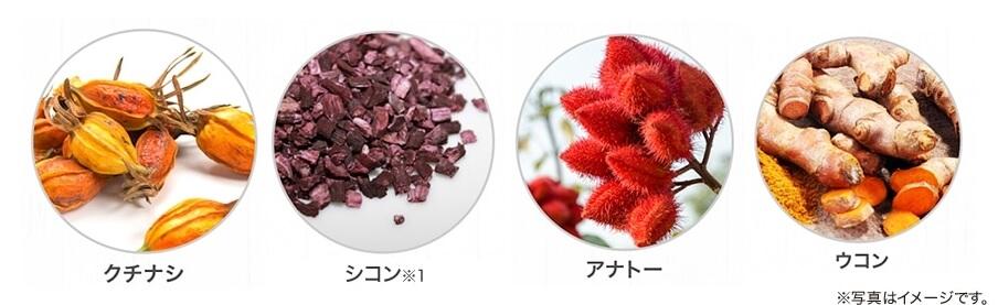 利尻カラークリームに含まれる植物性色素