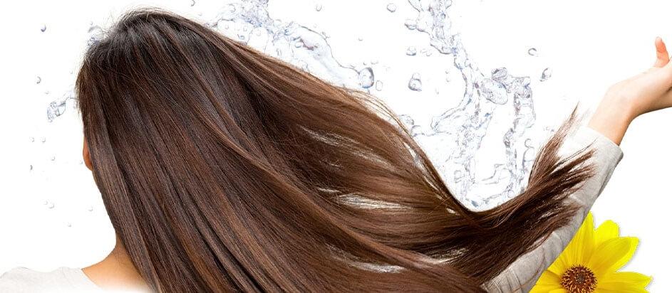 利尻カラークリームで髪ツヤツヤ(イメージ画像)