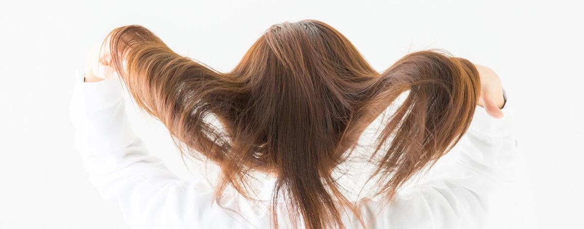 美髪、しなやか、サラサラのイメージ画像
